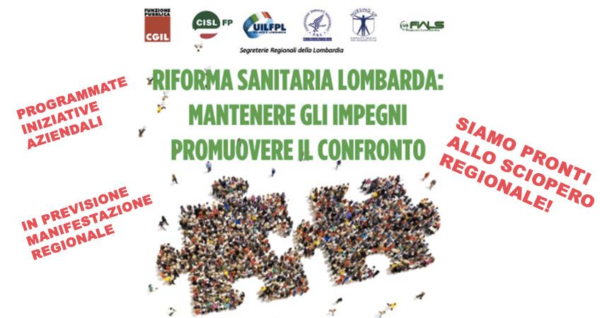 Attivo Unitario regione Lombardia: ecco la mozione finale