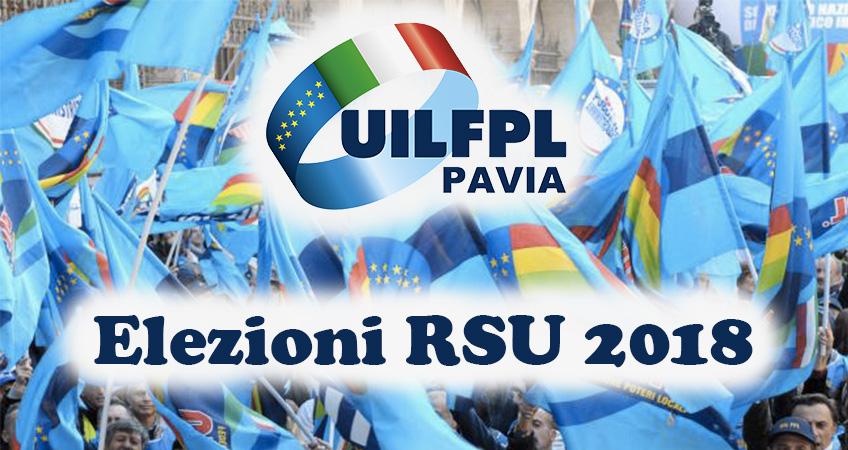 Elezioni RSU 2018: attivata pagina Facebook della UIL FPL di Pavia