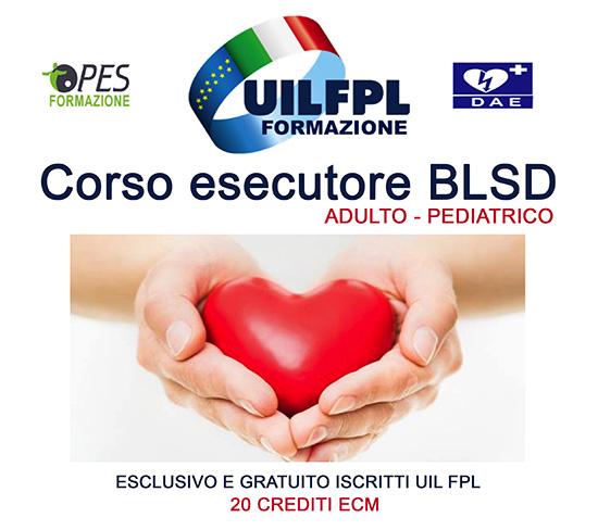 Corso esecutore BLS-D adulto/pediatrico Chiuse le pre iscrizioni per i corsi del 3 e 4 aprile 2018