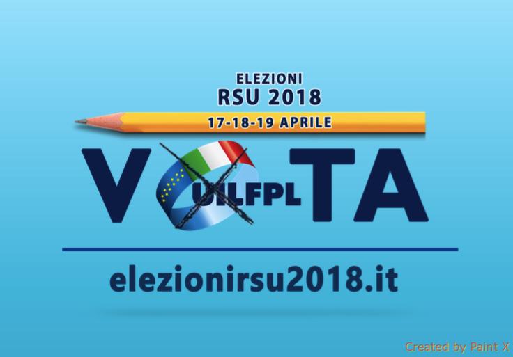Liste dei candidati UIL FPL Pavia - 17-18-19 Aprile #VOTAUILFPL