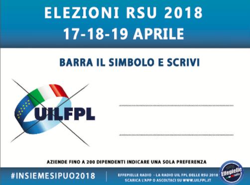 Programma di impegno dei nostri candidati alle prossime elezioni RSU
