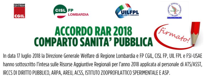SOTTOSCRITTA LA PRE INTESA DELLE RISORSE AGGIUNTIVE REGIONALI ANNO 2018
