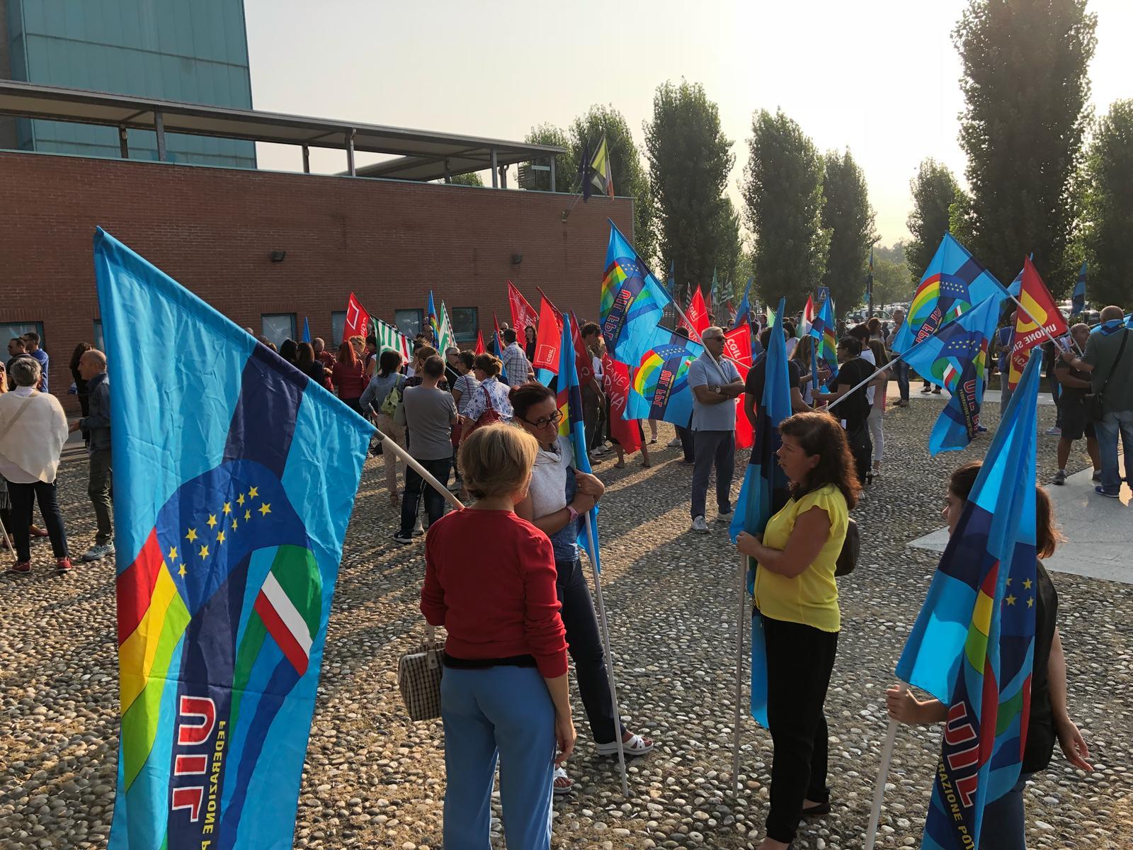 ICS MAUGERI - Grande adesione delle lavoratrici e dei lavoratori alla giornata di sciopero