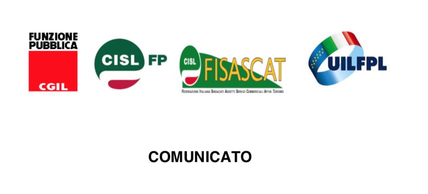 COMUNICATO UNITARIO UIL FPL FP CGIL CISL FP FISASCAT