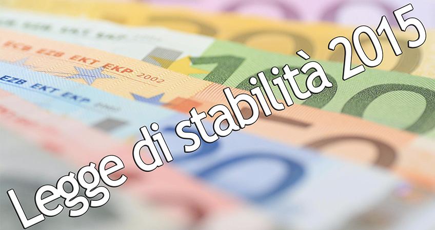 Legge di stabilità: sbloccate le progressioni economiche e il salario accessorio