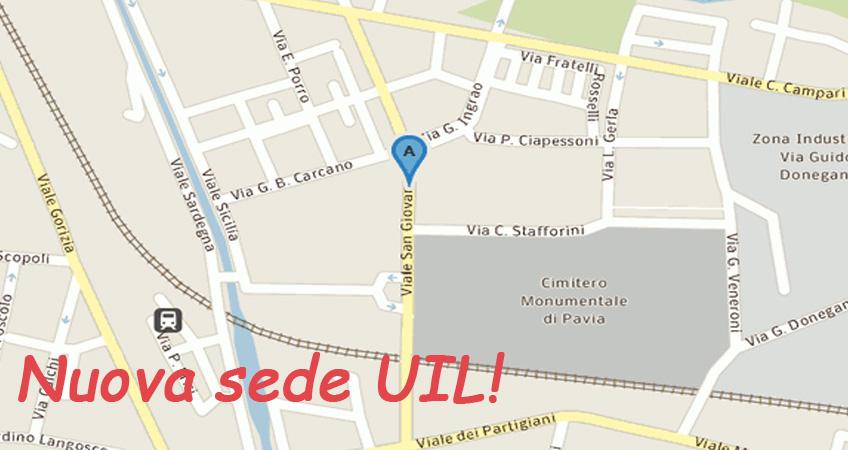 La UIL si trasferisce. Una sede nuova per garantire ai propri iscritti un servizio ancora migliore