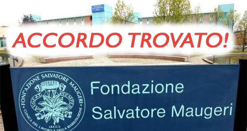 Fondazione Maugeri: finalmente trovato l'accordo tra Regione Lombardia e azienda