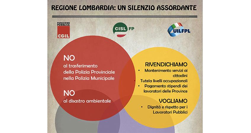 Regione Lombardia: un silenzio assordante