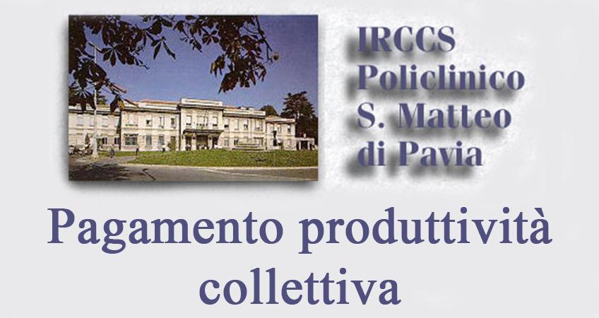 San Matteo: pagamento saldo produttività 2014 e primo acconto 2015