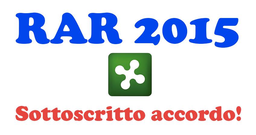 Sottoscritto accordo per le RAR 2015 del comparto
