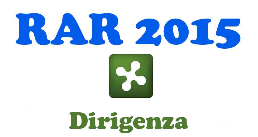 Sottoscritto accordo RAR 2015 personale della dirigenza