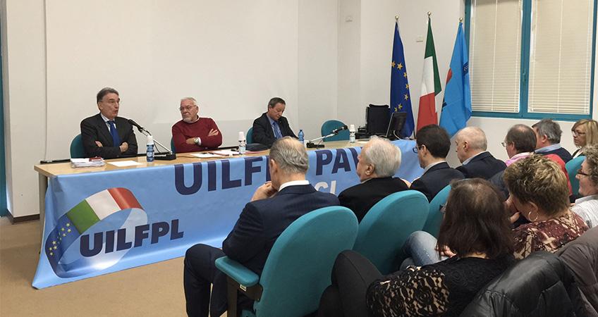 Consiglio Generale UIL FPL Pavia: focus dell'incontro le criticità della sanità pavese