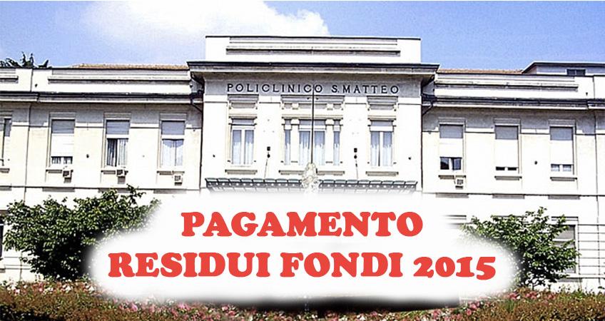 San Matteo: sottoscritto accordo distribuzione residui fondi 2015