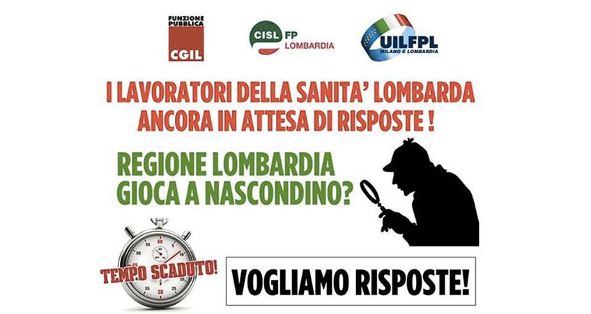 Lombardia: proclamato lo stato di agitazione dei Lavoratori della Sanità lombarda