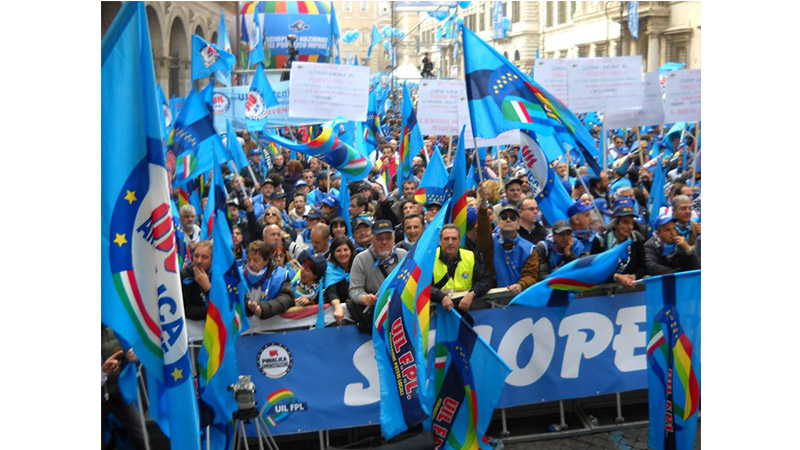UILPA, UIL FPL e UIL RUA, proclamato lo stato di agitazione