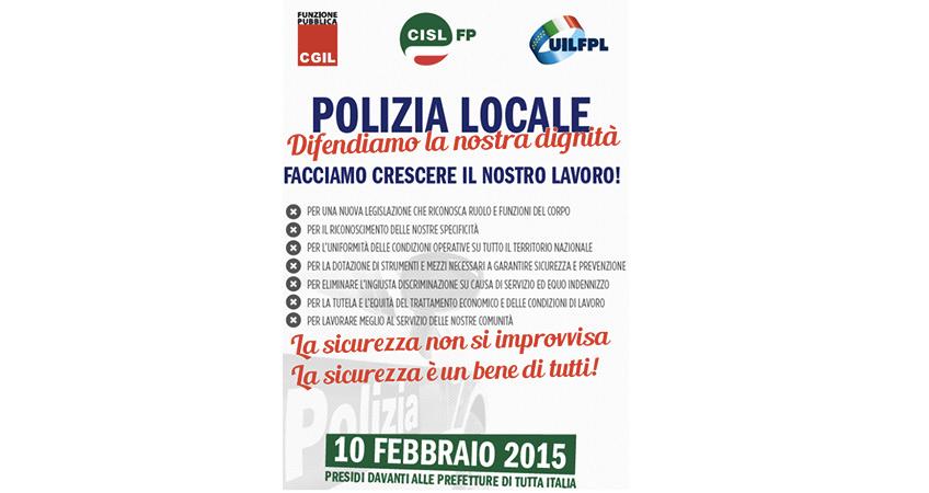 """Polizia Locale, Torluccio (UIL FPL): """"La mobilitazione nazionale è solo l'inizio"""""""