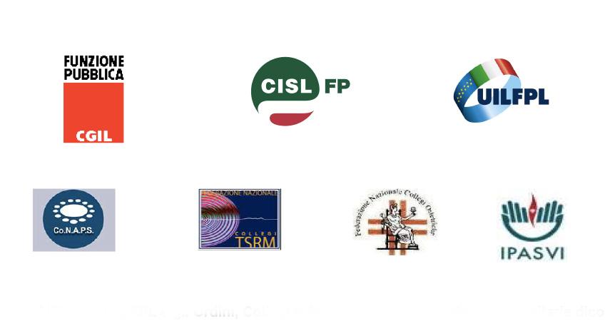 FP CGIL - CISL FP - UIL FPL e gli Ordini, Collegi e Associazioni delle professioni sanitarie dicono no a passi indietro sull'implementazione delle competenze