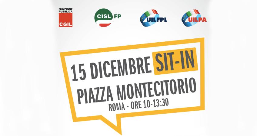 Stabilità e pubblico impiego: Cgil Cisl Uil, domani presidio a Montecitorio per contratto