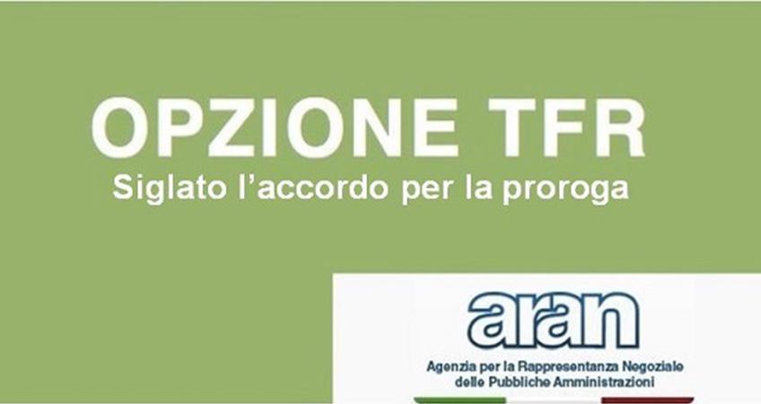 Opzione TFR: siglato l'accordo per la proroga