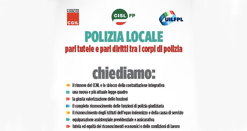 Vertenza Polizia Locale