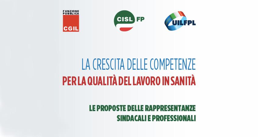 """Professioni sanitarie. Cgil, Cisl e Uil: """"Sblocco contratti, nuovo modello organizzativo e competenze"""""""