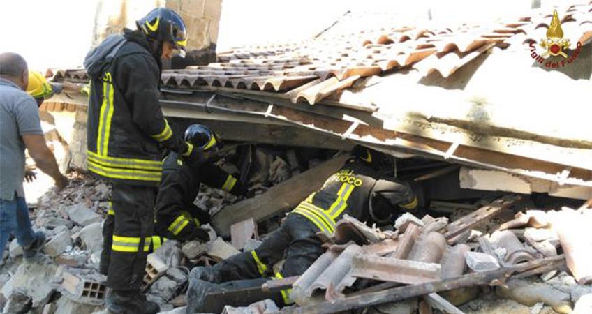 """Uil Fpl: """"Cordoglio per le vittime del terremoto"""""""