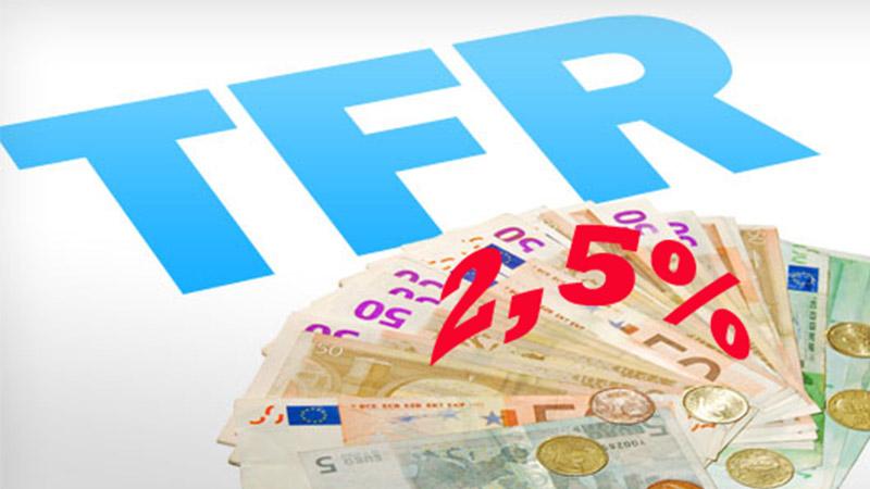 Trattenuta del 2,50% sul TFR: grande risultato nella vertenza promossa dalla UIL FPL!