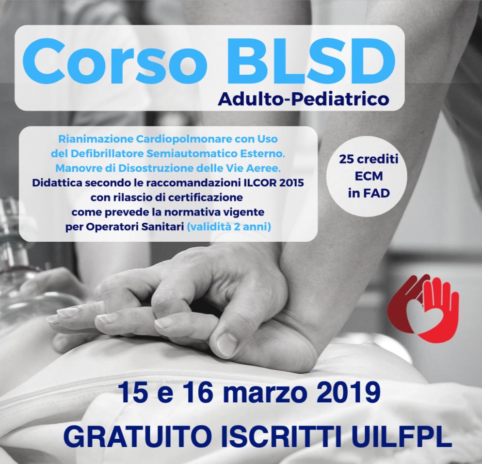 Corso esecutore BLS-D adulto/pediatrico già esauriti i 24 posti per i corsi del 15 e 16 marzo 2019, presto programmeremo altre date.