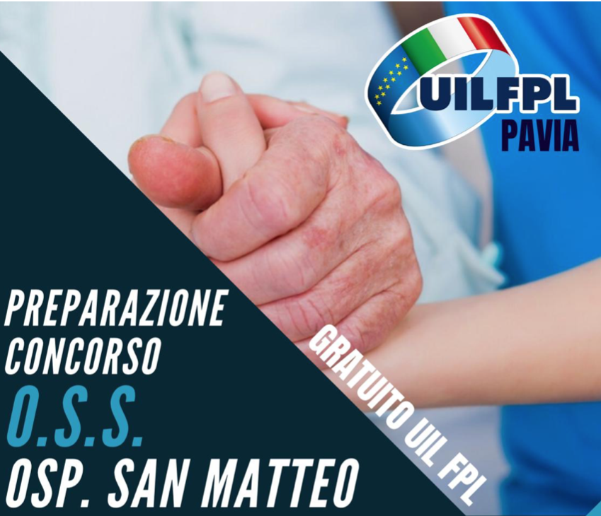 Preparazione Concorso O.S.S. IRCCS Fondazione Policlinico San Matteo