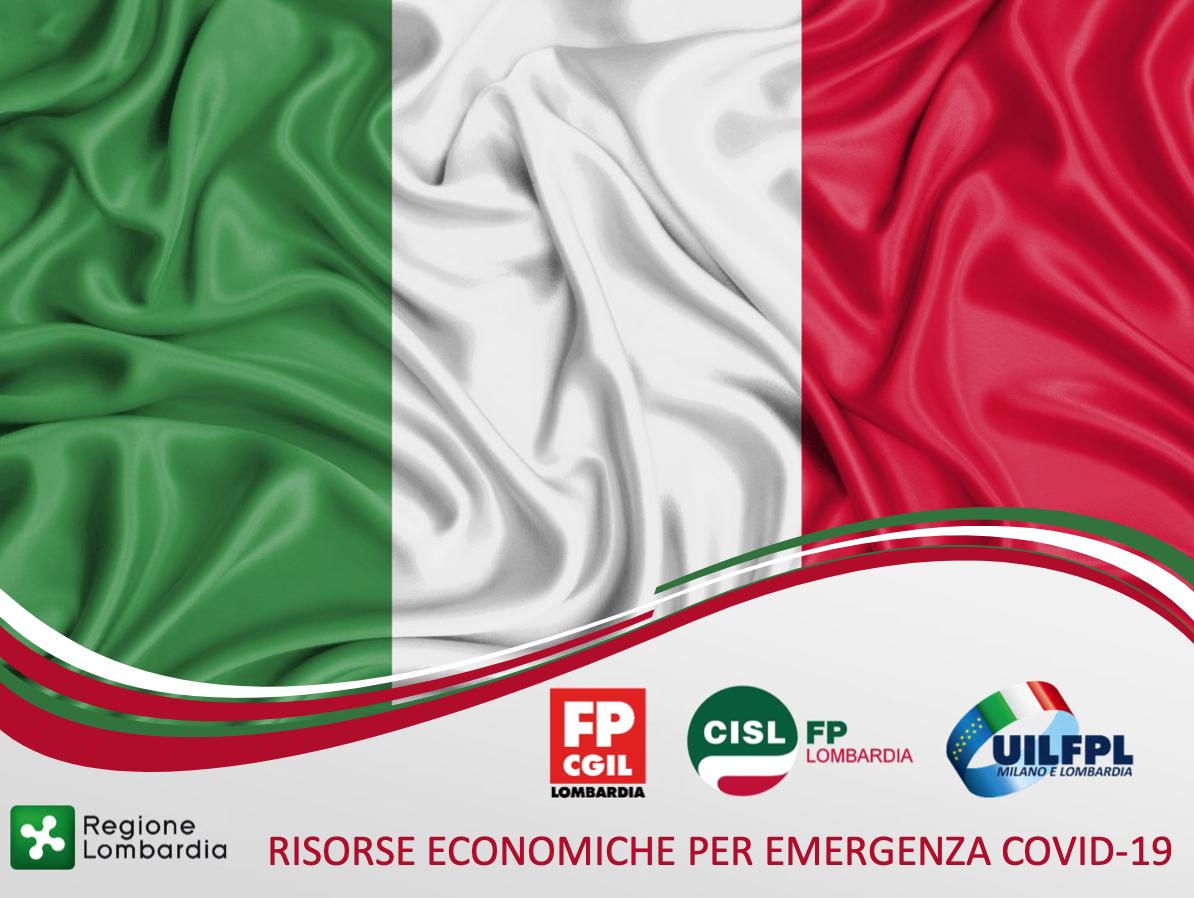 Siglato accordo RAR 2020 e progetti Covid 19 per il personale sanitario pubblico di Regione Lombardia