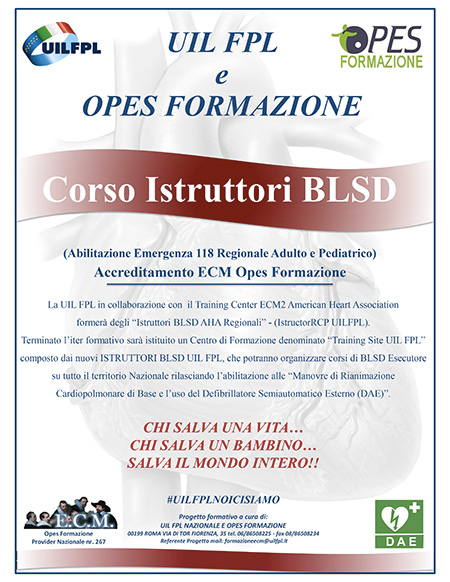 Progetto Istruttore BLSD UIL FPL